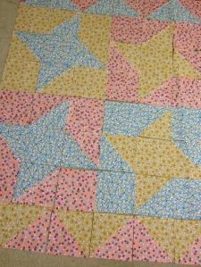 ninja star quilt